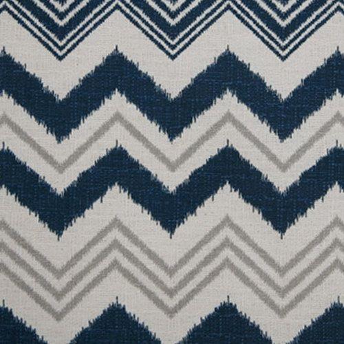 weekend sale navy blue natural grey designer custom drapes
