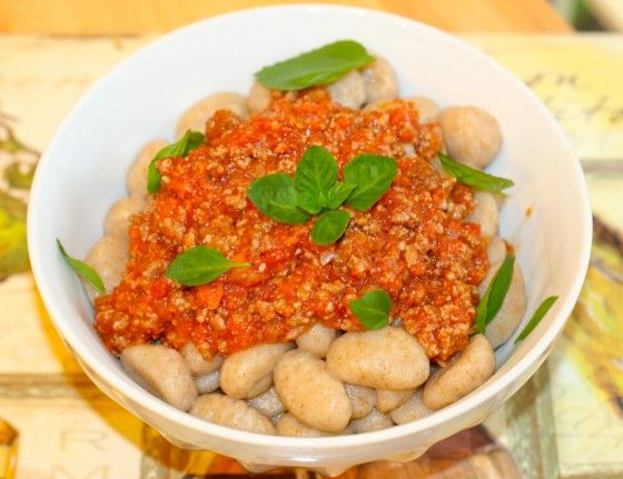 ... meat sauce gnocchi with quick meat gnocchi with quick meat sauce