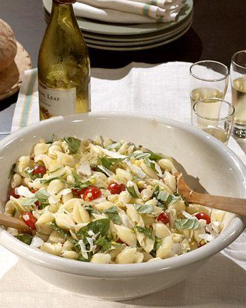 Corn, Tomato, and Basil Pasta - Martha Stewart Recipes
