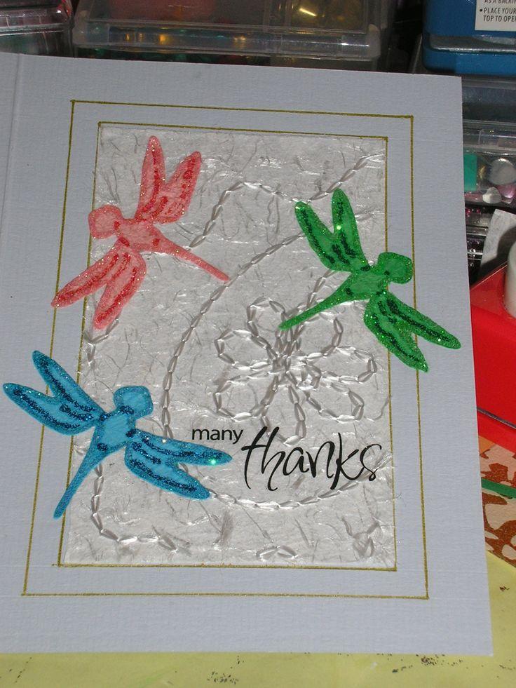 Thank You card | My Artwork | Pinterest