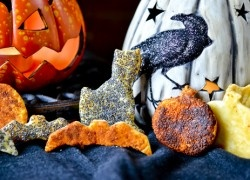 Scaredy Crackers Made with puff pastry...cute idea!
