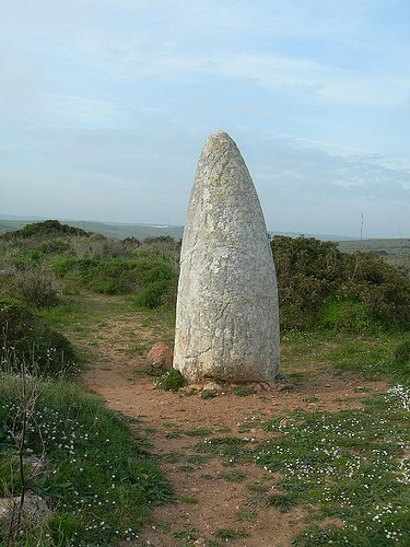 Menhir Algarve Portgal.   via Flickr
