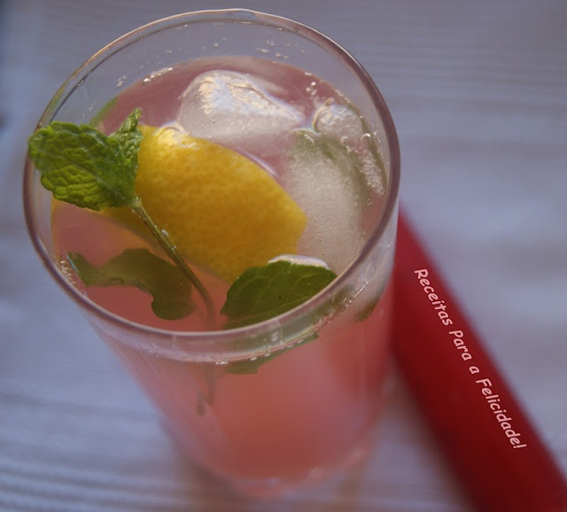 Rhubarb Iced Tea | Outras Receitas | Pinterest