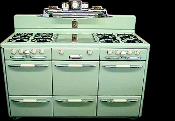 Vintage Stove Serious Big Family Cooking Stoves