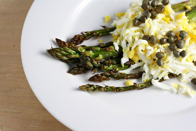 Asparagus Mimosa | Things to Make | Pinterest