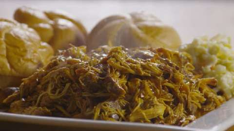 Zesty Slow Cooker Chicken Barbeque Allrecipes.com