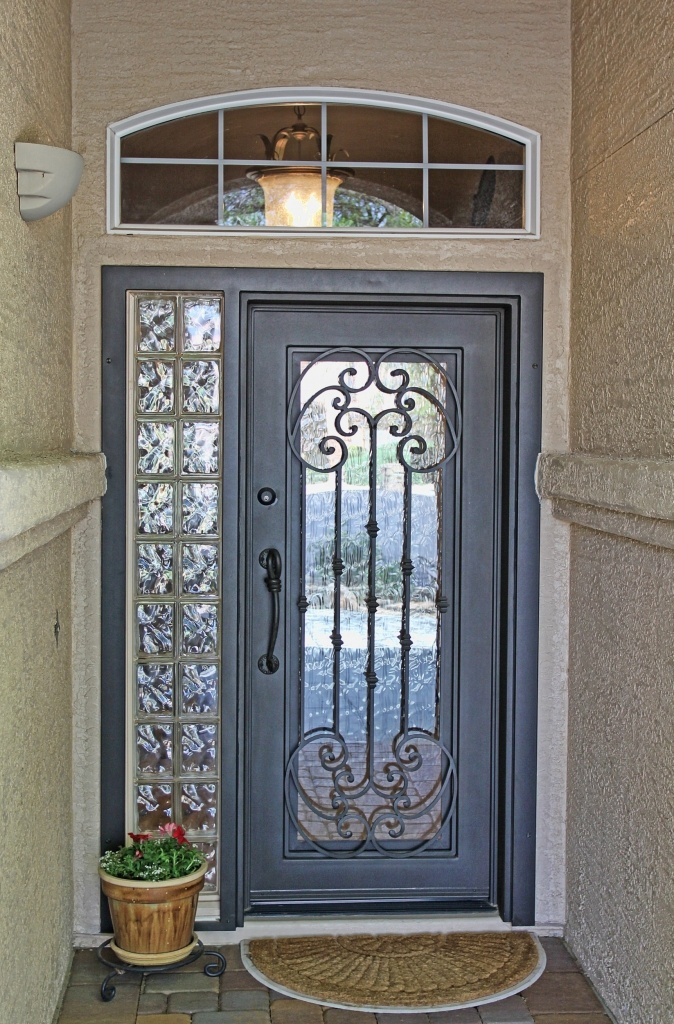 Tuscan Iron Entry Doors Firstimpression My First