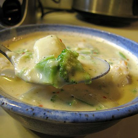 Cheesy Broccoli Potato Soup | Soups and Such | Pinterest