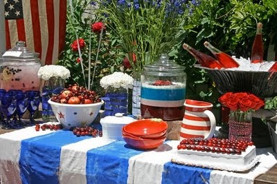 fourth of july picnic clipart