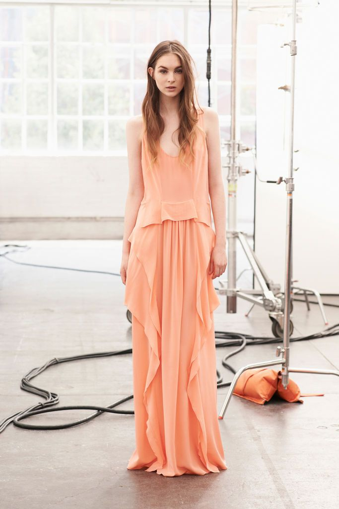 Love this Thakoon Addition Spring 2013 Ready-to-Wear maxi dress - so pretty! #NYFW