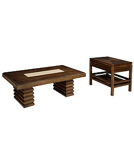 ... Cocktail Ottoman - Coffee, Console & End Tables - furniture - Macy's