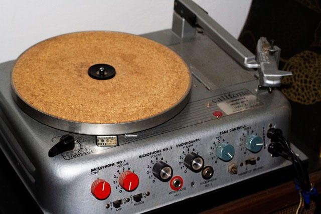 Califone Record Player 1950's