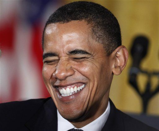 obama laughing laughter is the best medicine pinterest