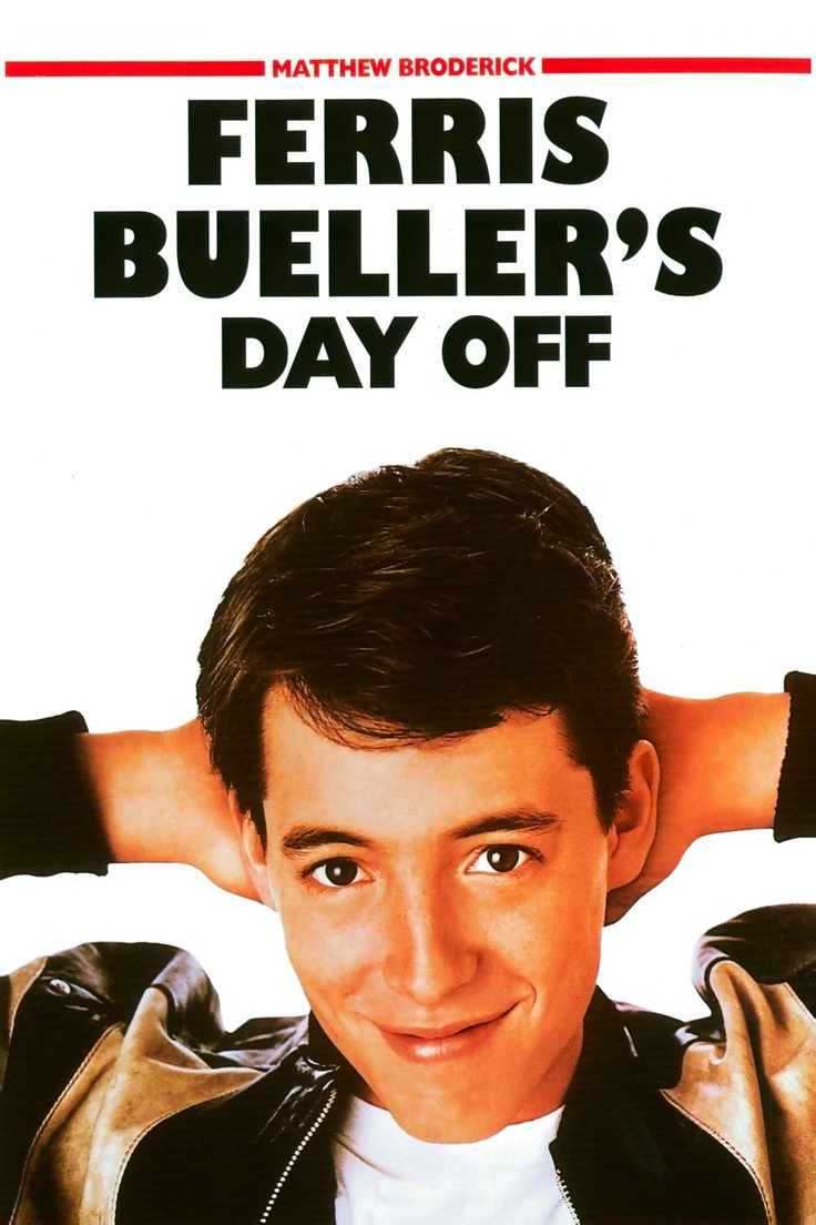 ferris bueller s day off Ferris: life moves pretty fast if you don't stop and look around once in a while, you could miss it.