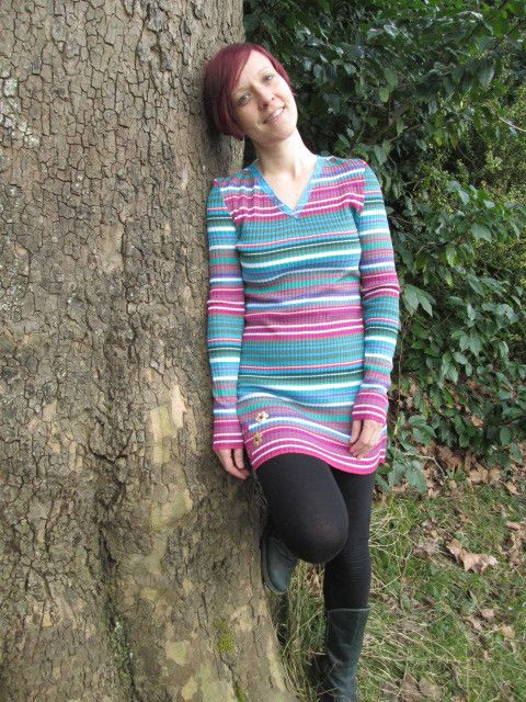 Knitted Jumper Dress,Winter Fall Top, Bohemian Clothing, Women s Tunic