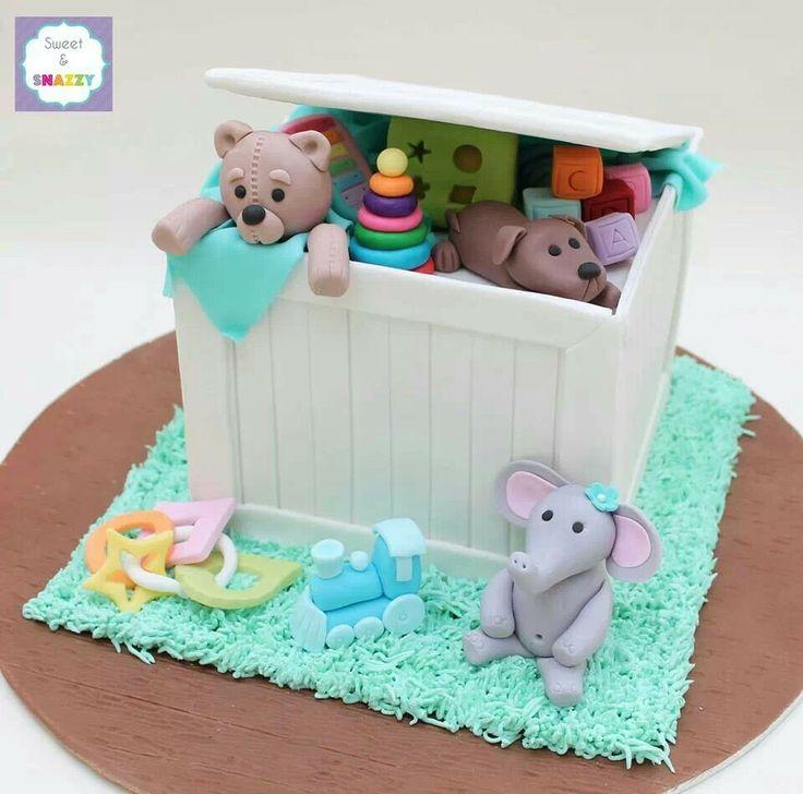 Toy Box cake | cakes | Pinterest