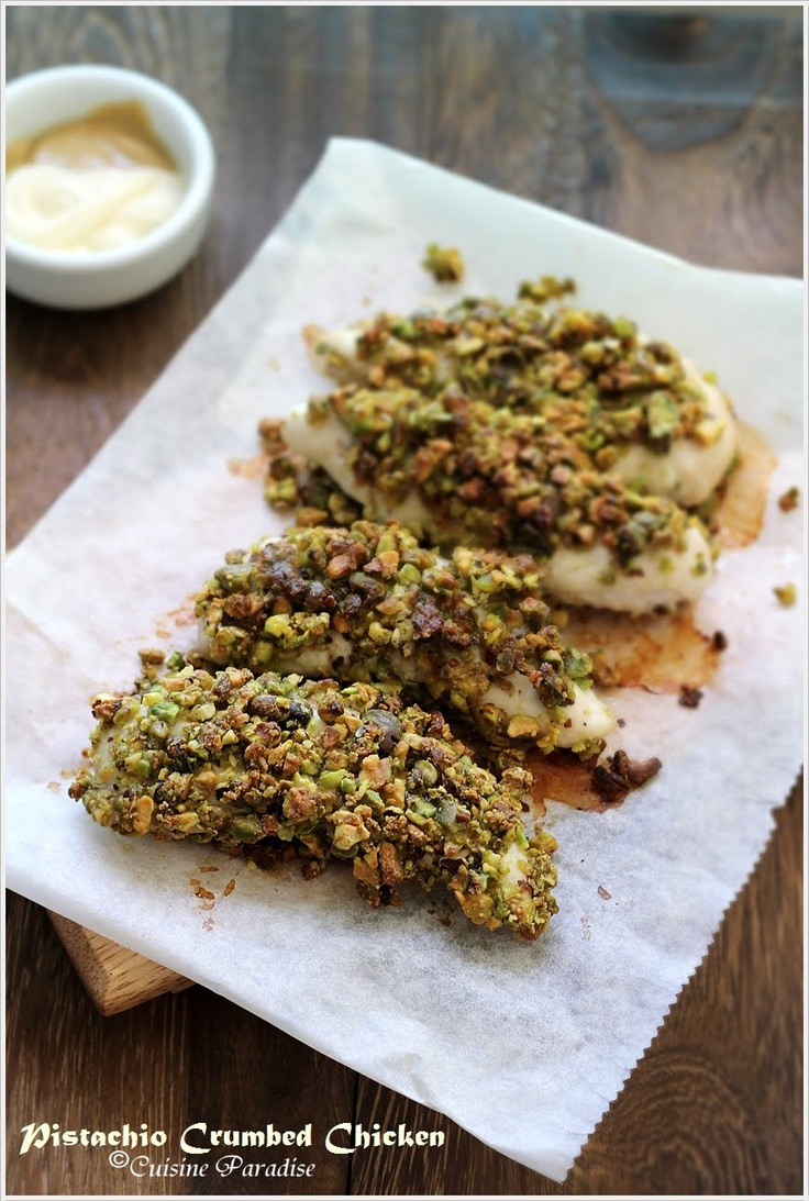 pistachio chicken... ahhh I used to make this all the time, and forgot ...