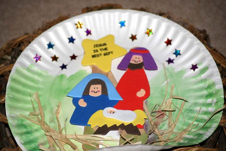 Our nativity | Edu. / Crafts {Christmas} & Foods | Pinterest