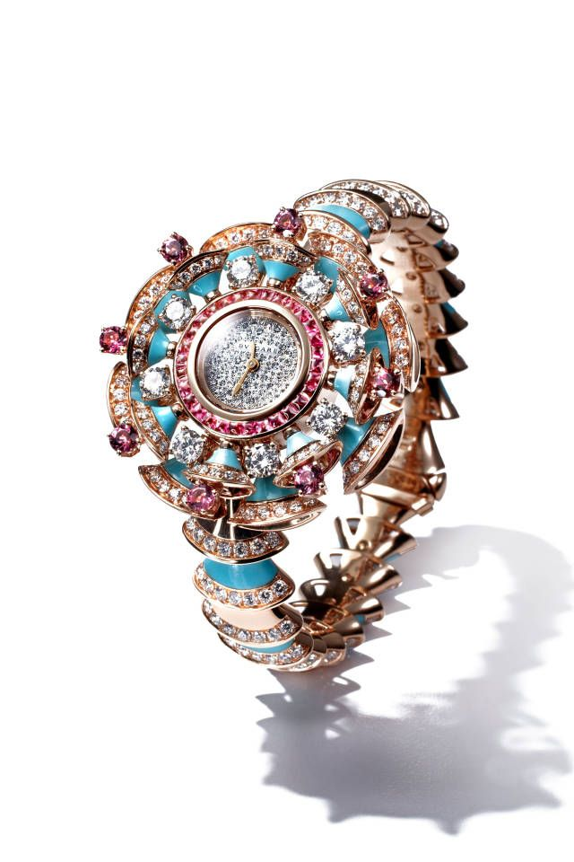 The jewelry piece to covet: Bulgari's watch inspired by Cleopatra and Elizabeth Taylor.