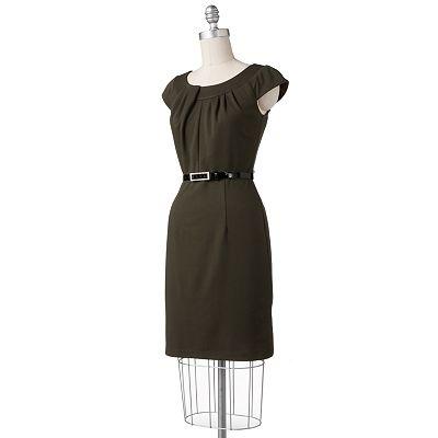 ab studio pintuck sheath dress kohl 39 s pinterest