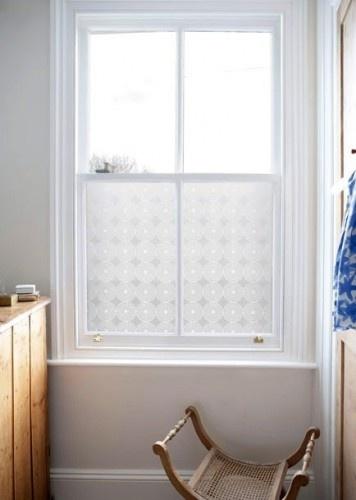 Pearl window film, for bathroom?