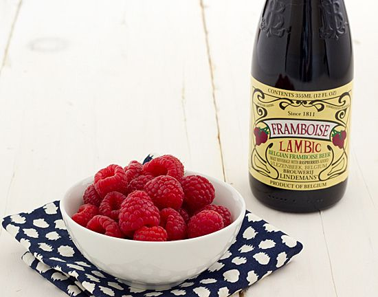 Chocolate Lambic Cupcakes with Raspberry Cream Cheese Frosting | Reci ...