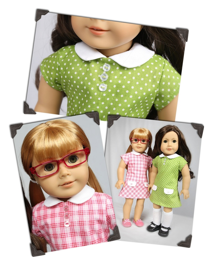 PDF Sewing Pattern for 18 Inch American Girl Doll Clothes - Teacher's ...