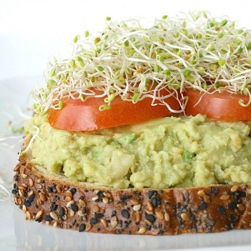 Chickpea Avocado Mash with Lemon Recipe | Cooking | Pinterest