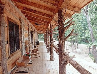 Houses with cedar posts joy studio design gallery best for Rustic porch columns