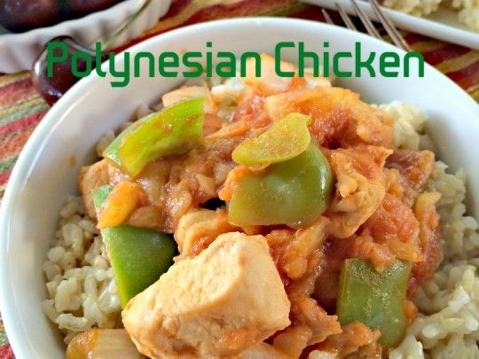 Polynesian Chicken | Can't Stay Out Of The KitchenCan't Stay Out Of ...