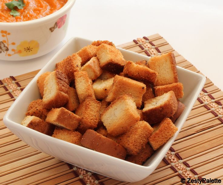 Pin by Trish Mickelsen on How to make croutons | Pinterest