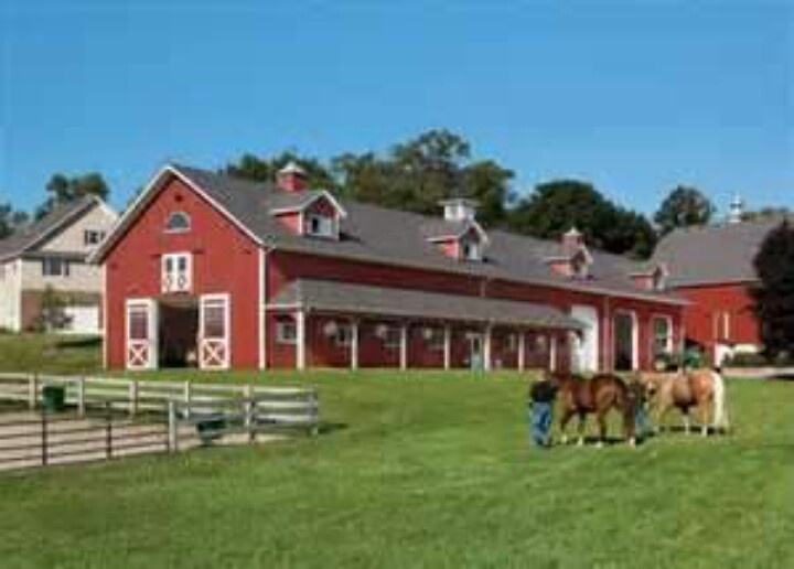 Horse barn with dormers for the home pinterest for Horse barn building