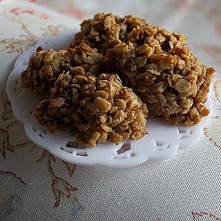 banana oat bars made with applesauce | Eggs for Breakfast | Pinterest