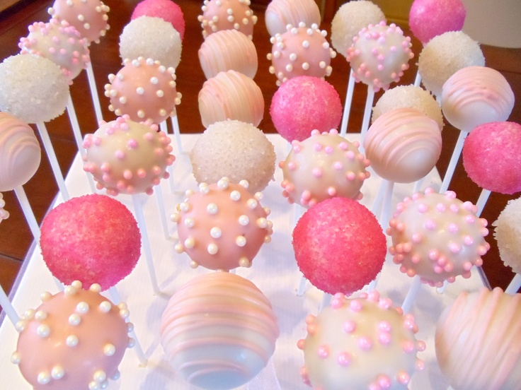 Images Of Pink Cake Pops : Pin by Kim Quach on Sweets Pinterest