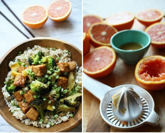 Orange Glazed Tempeh Stir Fry   The Flourishing Foodie