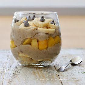 Vegan Richa: Brown Rice Pudding with Banana, Walnuts and Mango. Vegan ...