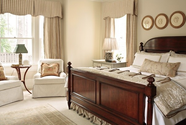 checked window treatment bedrooms pinterest