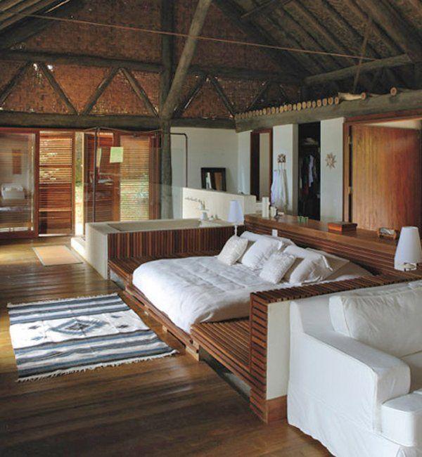 Rustic Beach House In Brazil My Dream Home Pinterest