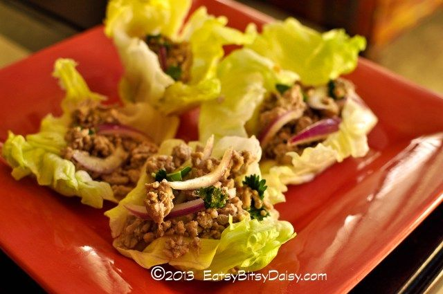 Pork Larb Lettuce Wraps- forget you PF Chang! Make these quick and ...