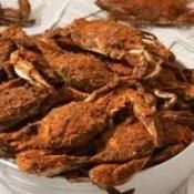 Steamed Maryland Blue Crabs #Recipe #holiday
