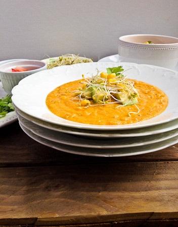 Roasted Sweet Potato Corn Chowder Recipes — Dishmaps