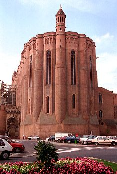 The cathedral church of st caecilia, albi, tarn