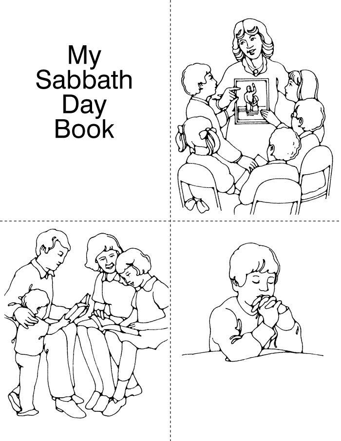 Lds Sabbath Day Coloring Pages Images Sabbath Coloring Pages