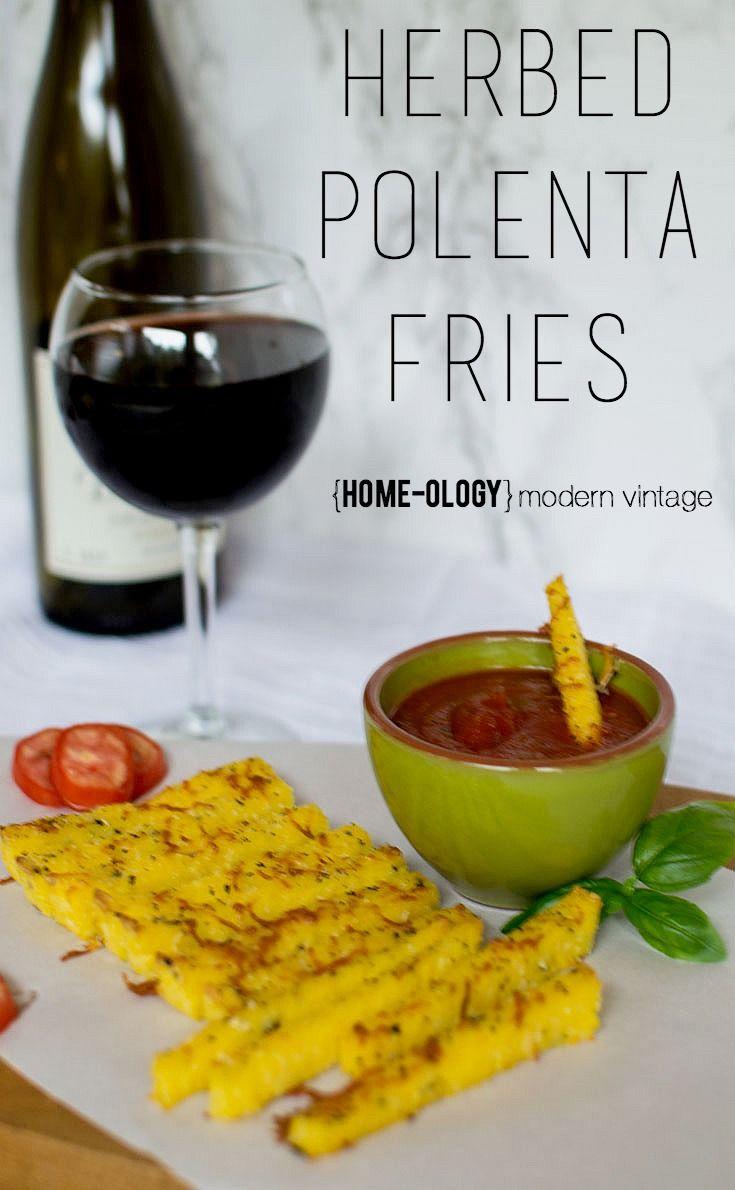 Herbed Polenta Fries | {Home-ology} modern vintage: Herbed Polenta ...