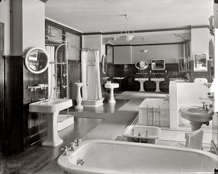 Pinterest for Bathroom ideas 1920s home