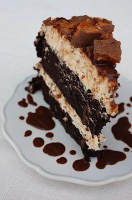 mile high cheesecake layered chocolate cake recipe dishmaps mile high ...