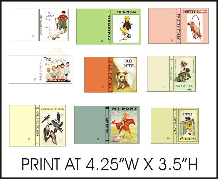 Children S Book Cover Printables ~ Pin by beth stagdon on mini books children pinterest