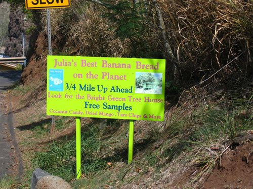 Julia's Best Banana Bread on the Planet -- Kahakalua Village -- a very ...
