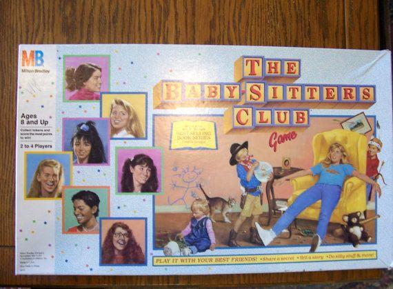 ... www.etsy.com/listing/165297202/the-babysitters-club-board-game-1989