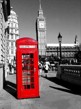 London, England -- I actually have a pic of me at this phone booth!